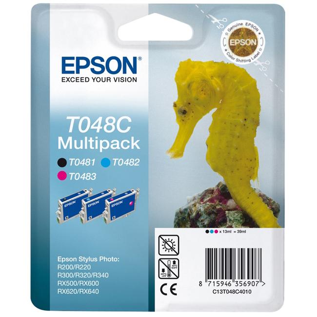 Epson T048 Ink Cartridge - Black
