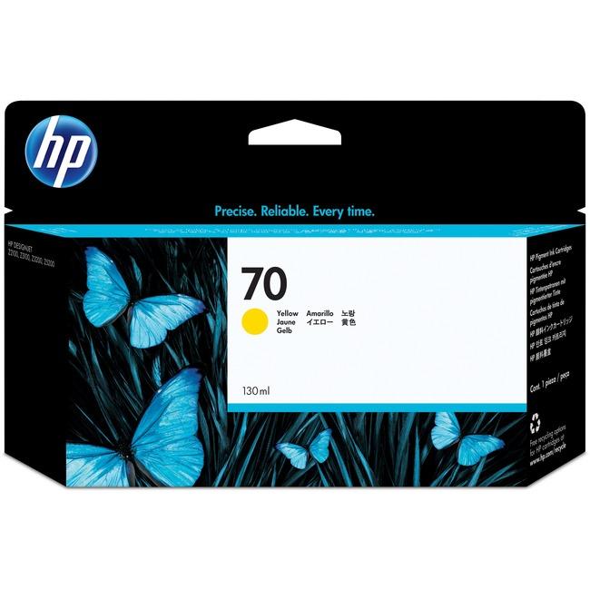 HP No. 70 Ink Cartridge - Yellow