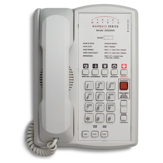 DuVoice 2802MWD5 Two Line Speakerphone