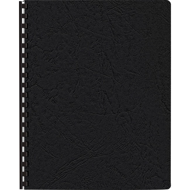 Fellowes Expressions™ Grain Presentation Covers Oversize Black, 200 pack