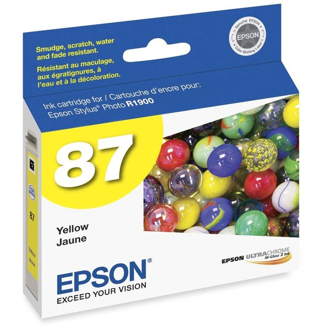 Epson UltraChrome Hi-Gloss 2 Pigment Yellow Ink Cartridge