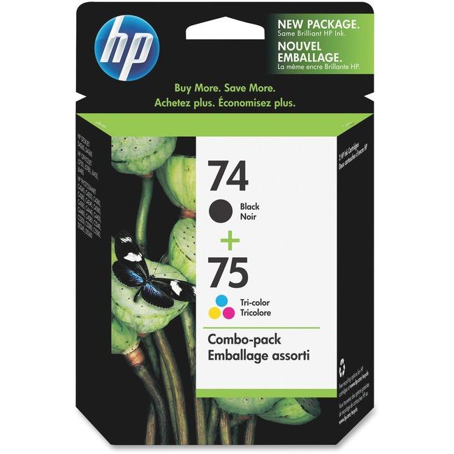 HP 74/75 Black /Tri-Color Ink Cartridge