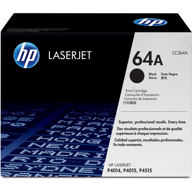HP 64A Original Toner Cartridge - Single Pack