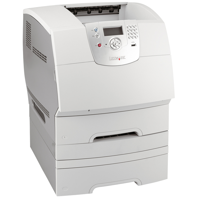 Lexmark T644DTN Laser Printer Government Compliant