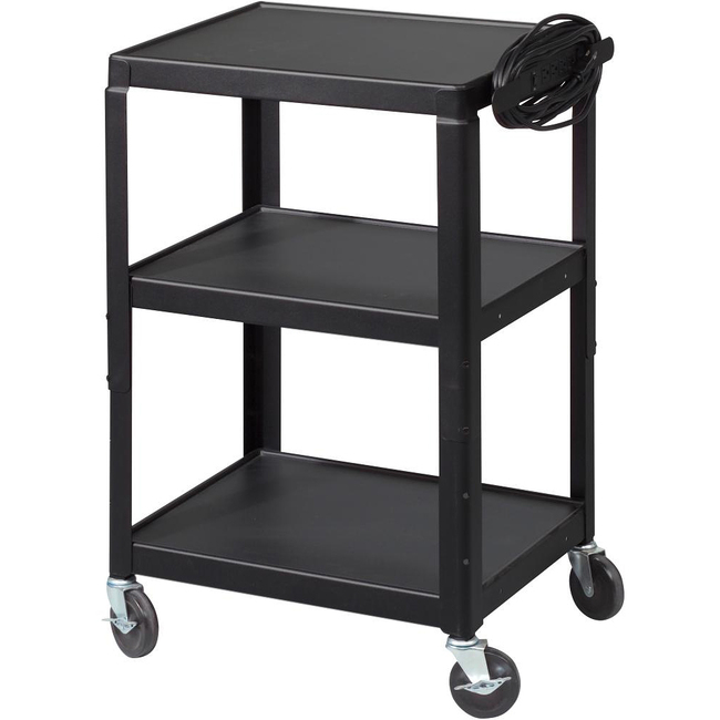 Balt Utility Cart with Cabinet