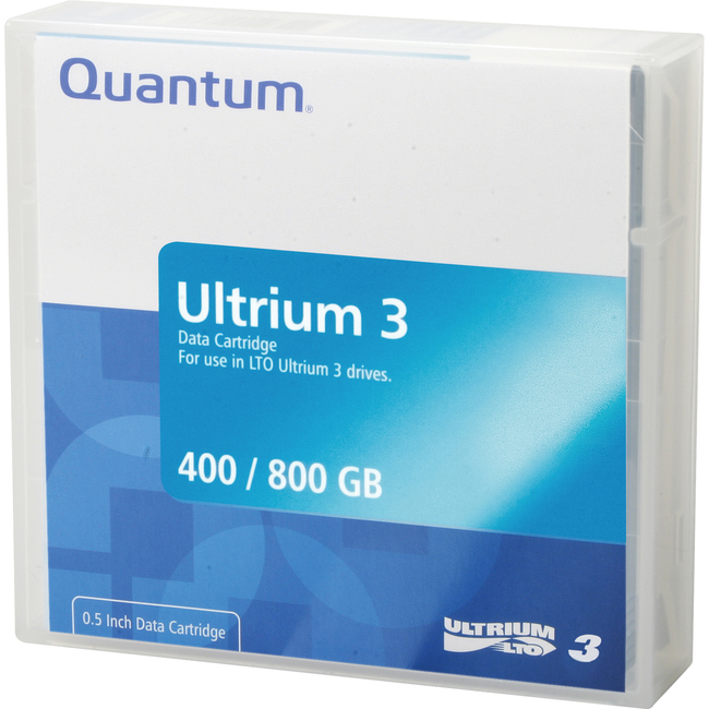 Quantum LTO Ulltrium 3 Data Cartridge