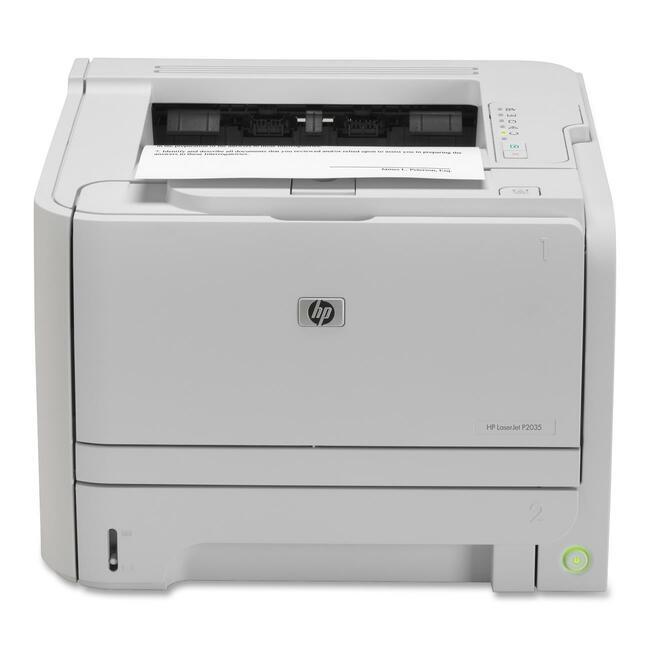 HP LaserJet P2000 P2035 Laser Printer - Monochrome - 1200 x 1200 dpi Print - Plain Paper Print - Desktop