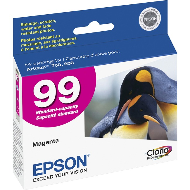 Epson 99 Magenta Ink Cartridge (T099320-S)