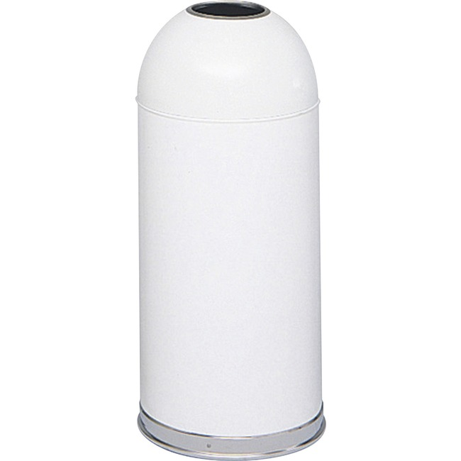 Safco Open Top Dome Waste Receptacle