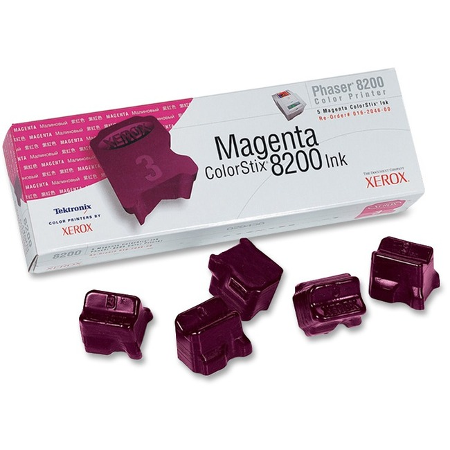 Xerox ColorStix 8200 Magenta Solid Ink