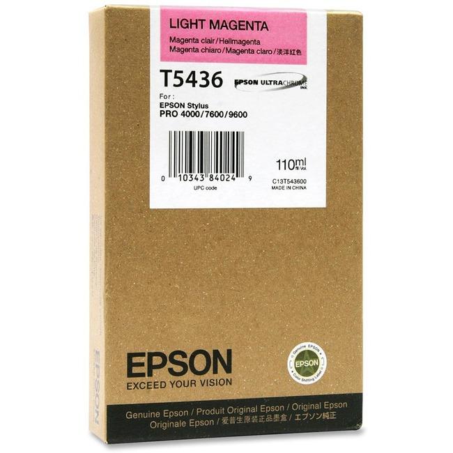 EPSON Light Magenta UltraChrome Ink, 110 ml, Stylus Pro 4000/7600/9600