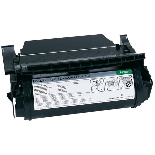 Toner Cartridge - Black - 10,000 pages - T620/T622