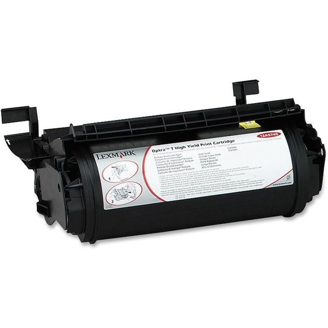 Toner cartridge - black - 25000 pages for  Lexmark Optra T610 Lexmark Optra T610