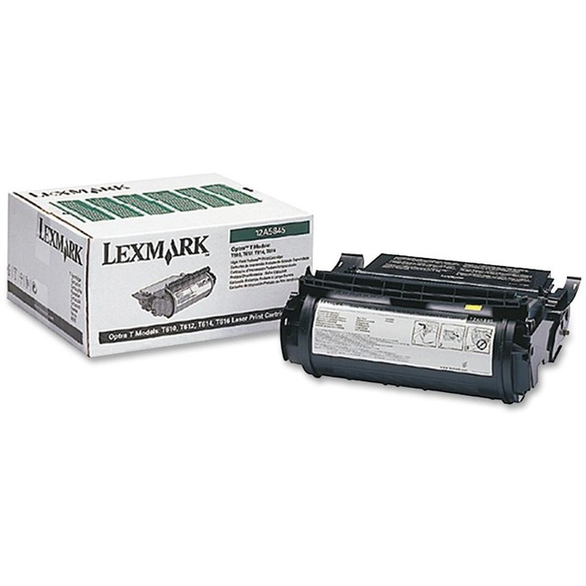 Toner cartridge - black - 25000 pages at 5% coverage