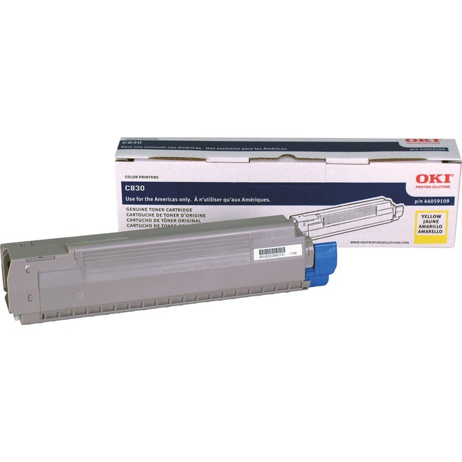 Oki Type C14 Yellow Toner Cartridge