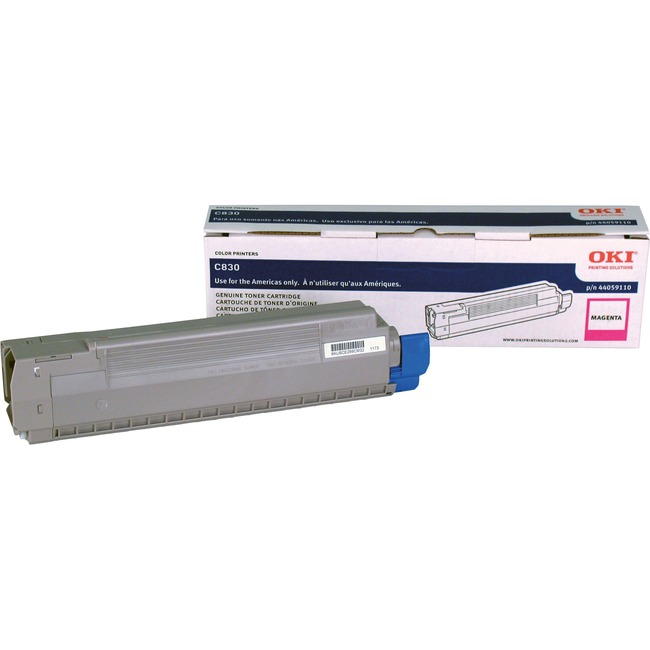 Oki Type C14 Magenta Toner Cartridge
