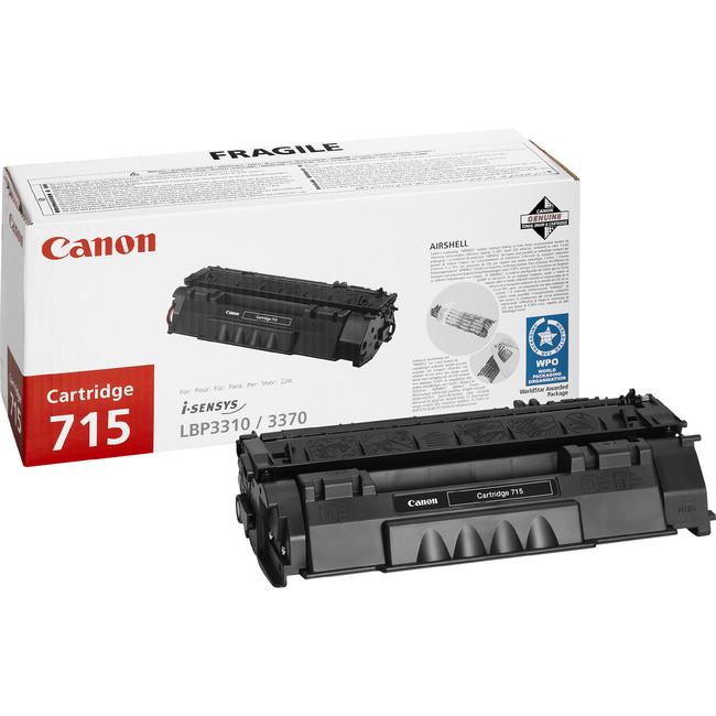 Canon 715 Toner Cartridge - Black
