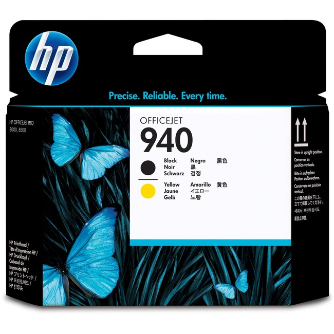 HP 940 Black - Yellow Printhead