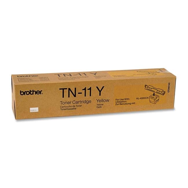 Brother TN-11 Yellow Toner Cartridge