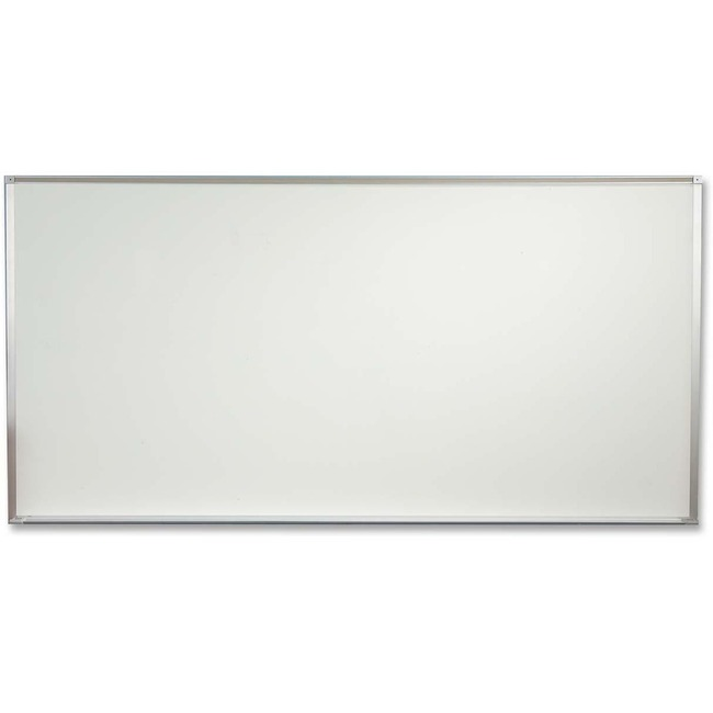 PORCELAIN STEEL MARKERBOARD - DELUXE ALUMINUM TRIM 4X8 INCHES