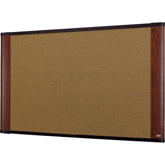 3M Standard Cork Bulletin Board