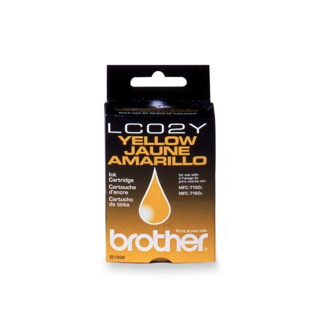 Brother 02Y Yellow Ink Cartridge
