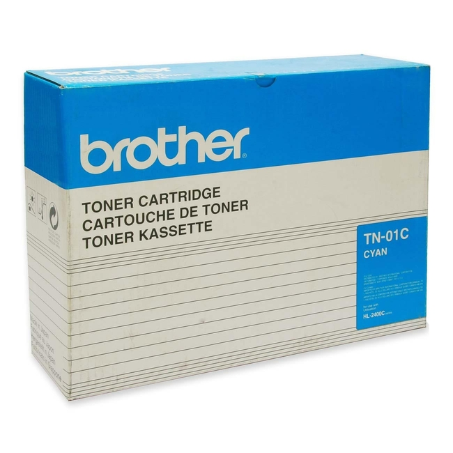 Brother 01 Cyan Toner Cartridge