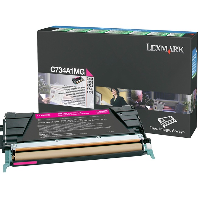 LEXMARK - BPD SUPPLIES MAGENTA RETURN PROGRAM TONR CART 6K FOR C73X X73X