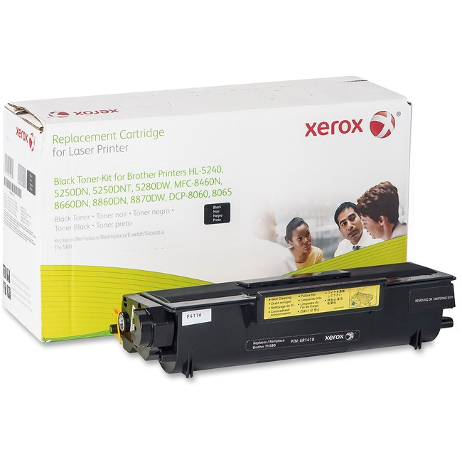 Xerox Remanufactured Toner Cartridge - Alternative for Brother (TN580)