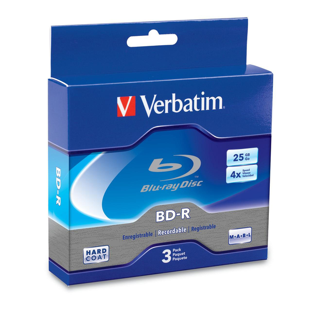 Verbatim 4x BD-R Media