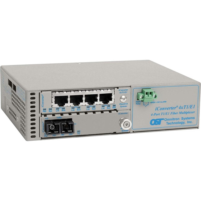 Omnitron iConverter 8822-5-B Data Multiplexer - Large