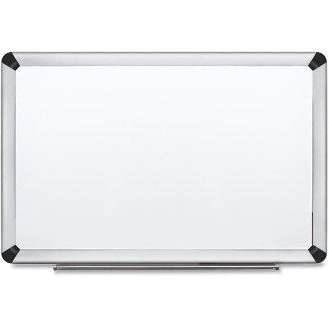 3M Aluminum Frame Porcelain Dry-erase Board