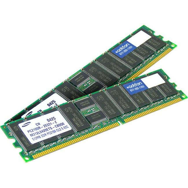 ADD-ON MEMORY DT 4GB DDR3-1333MHZ RDIMM DR ECC FACTORY ORIGINAL SVR MEM