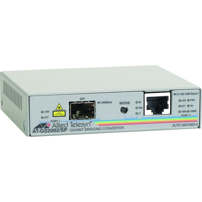 Allied Telesis AT-GS2002/SP Bridging Media Converter