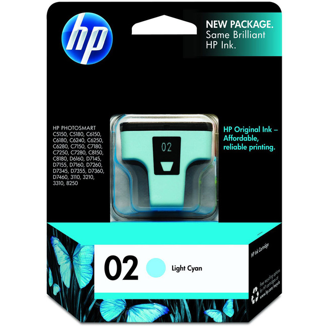HP INC. - INK LIGHT CYAN INK CARTRIDGE EAS SENSORMATIC