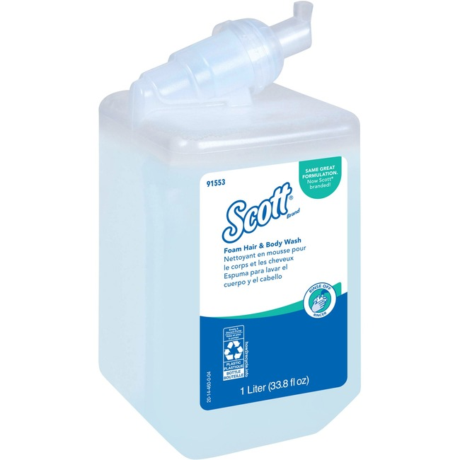 Kleenex Foam Hair & Body Wash