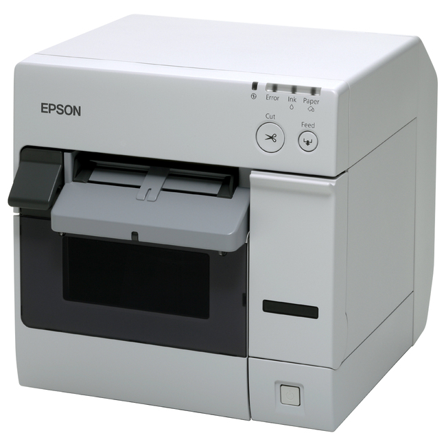 Epson SecurColor TM-C3400 Inkjet Printer - Color - Desktop - Label Print