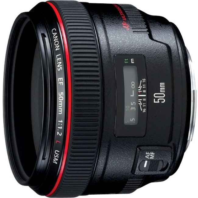 Canon - 50 mm - f/1.2 - Medium Telephoto Lens for Canon EF