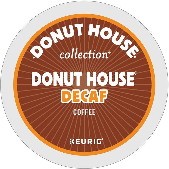 donut house decaffeinated light roast coffee. Black Bedroom Furniture Sets. Home Design Ideas