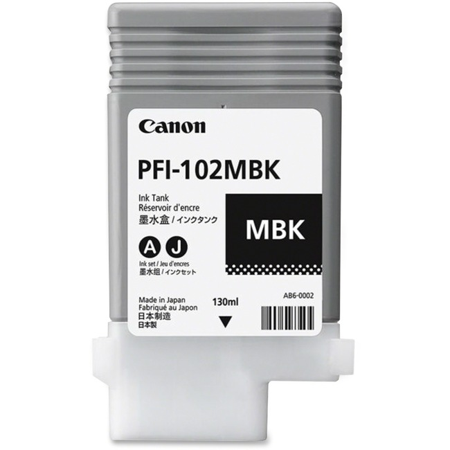 Canon 0894B001AA Ink Cartridge - Matte Black