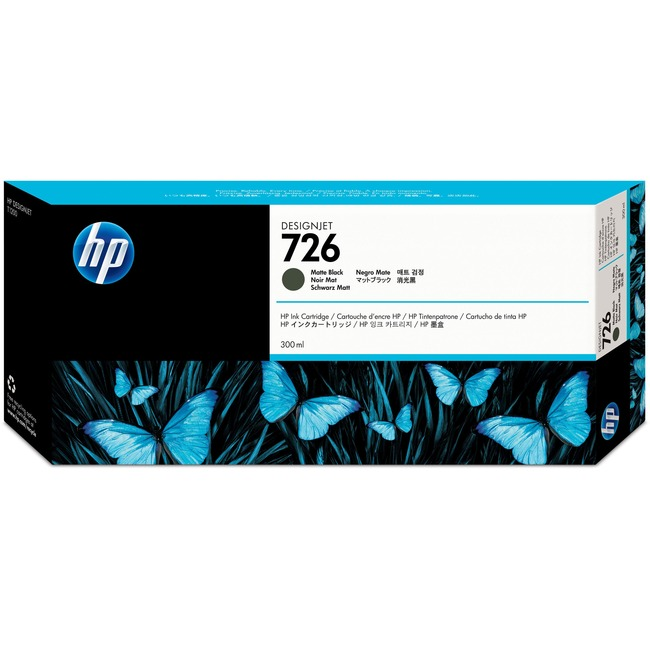HP No.726 Ink Cartridge - Matte Black