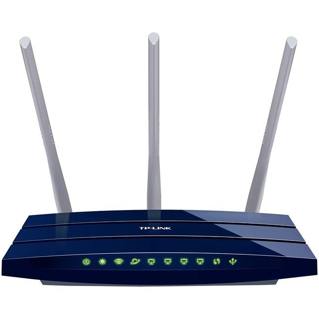 TP-LINK N450 Gigabit Wi-Fi Router, Qualcomm, 802.11b/g/n (TL-WR1043N)