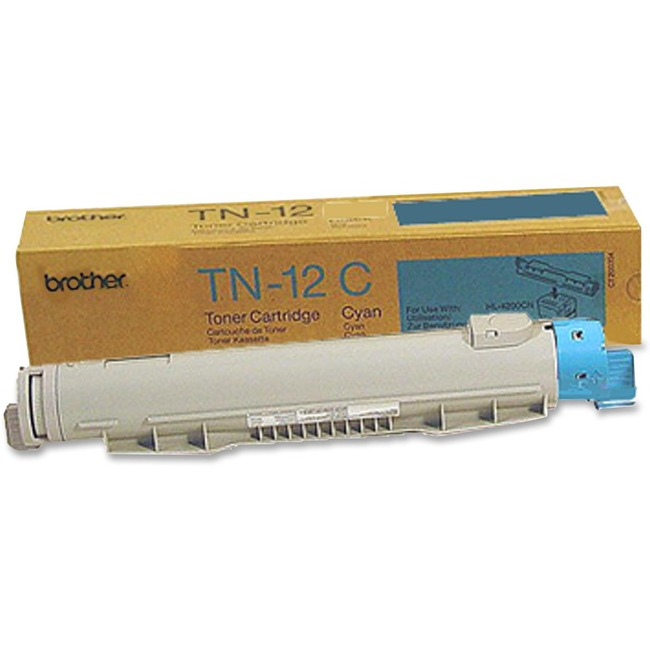 Brother 12C Cyan Toner Cartridge