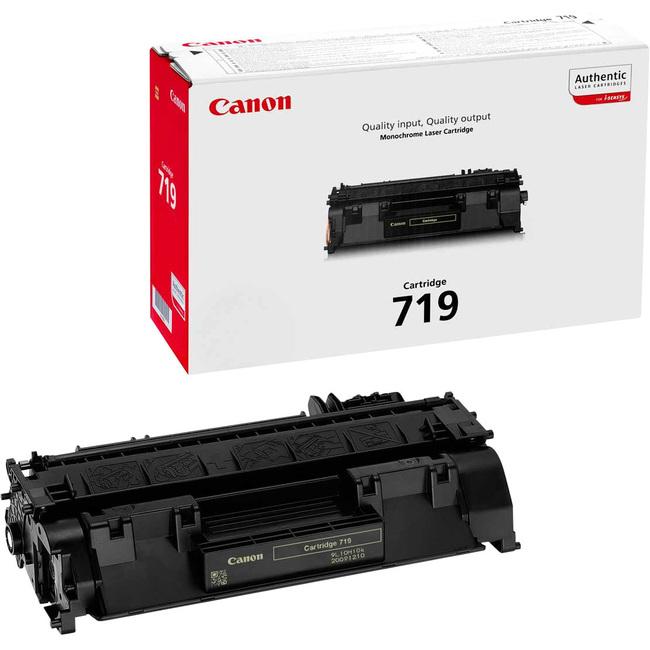 Canon No. 719 Toner Cartridge - Black