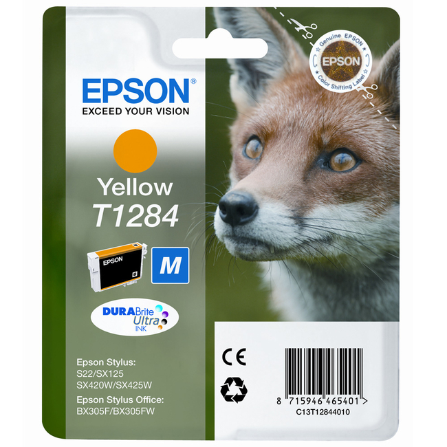 Epson DURABrite T1284 Ultra Ink Cartridge