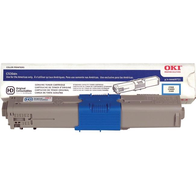 Oki Toner Cartridge 44469721 - Large