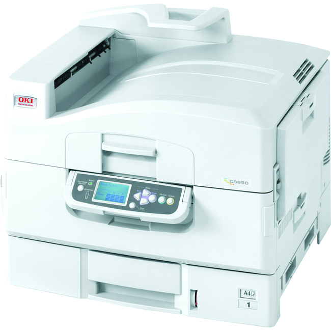 Oki C9650HN LED Printer - Color - 1200 x 600 dpi Print - Plain Paper Print - Desktop