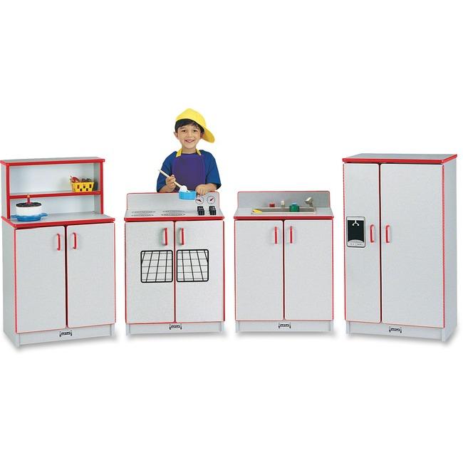 Rainbow Accents - Play Kitchen Set