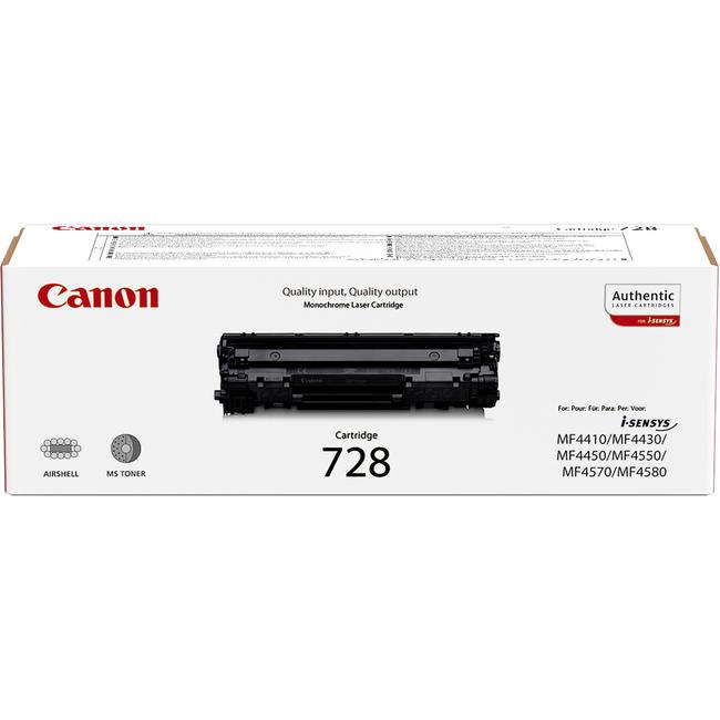 Canon 728 Toner Cartridge - Black