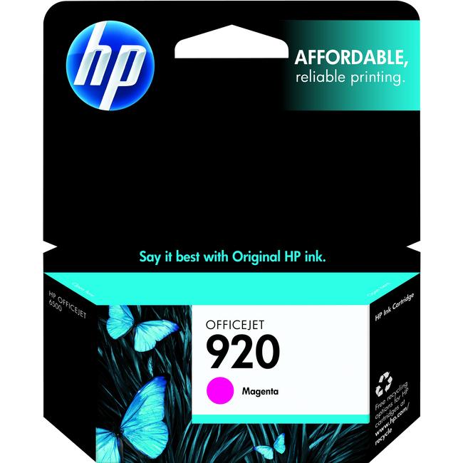 HP 920 Ink Cartridge | Magenta